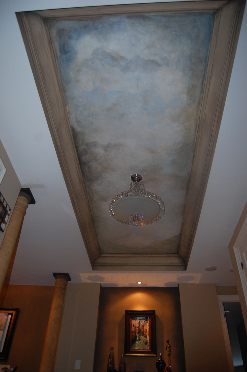 Coffered Ceiling Sky