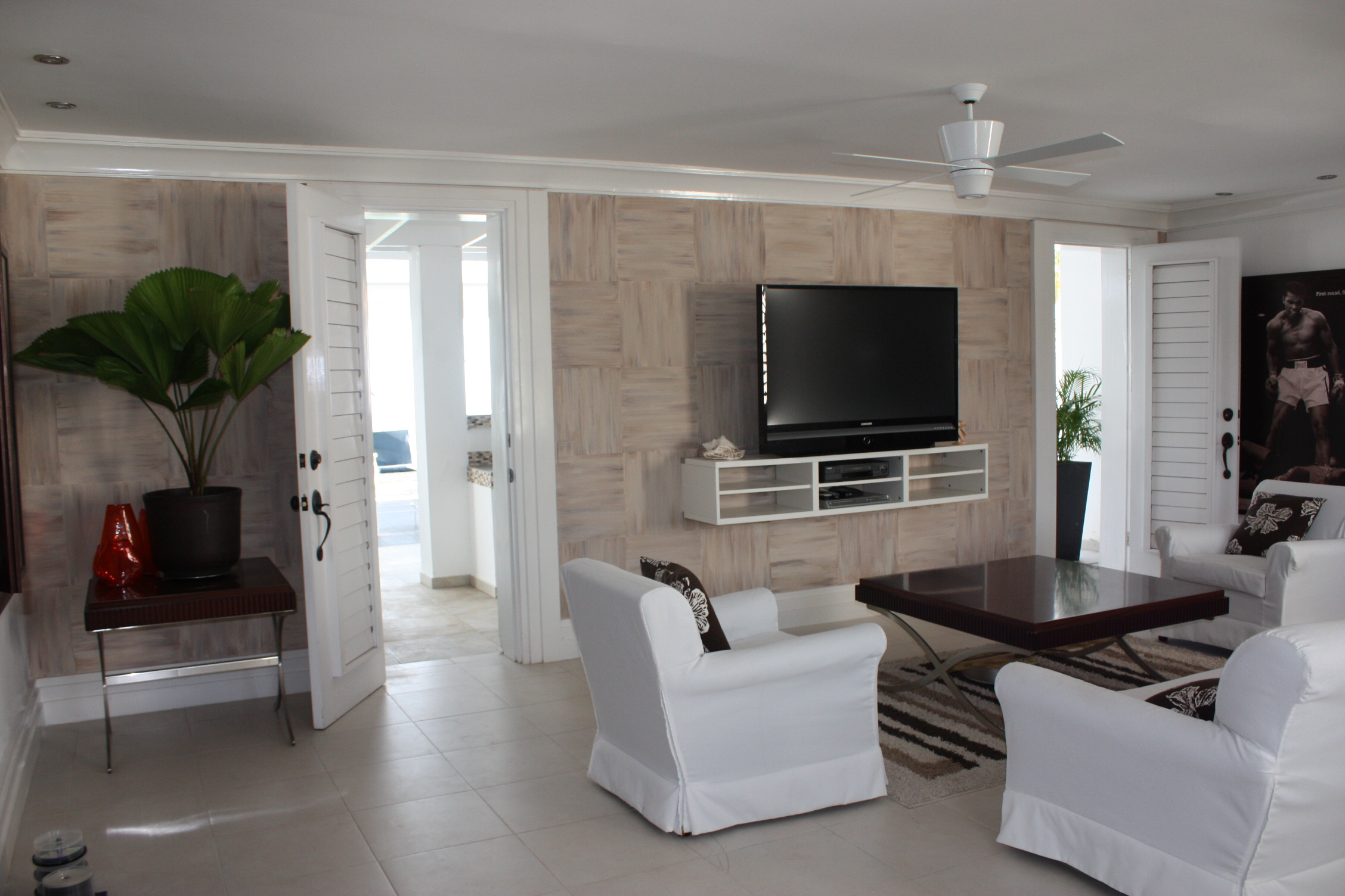 Jamaican Villa Media room