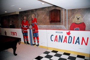 Canadiens Games Room