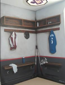 Leafs Locker Room
